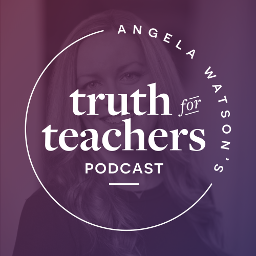Truth for Teachers podcast: a weekly 10 minute talk radio show you can download and take with you wherever you go! A new episode is released each Sunday to get you energized and motivated for the week ahead.