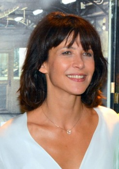 Sophie Marceau, a Scorpio woman with Virgo dominant