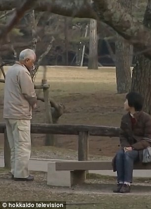 A meeting was arranged between them in Nara Park