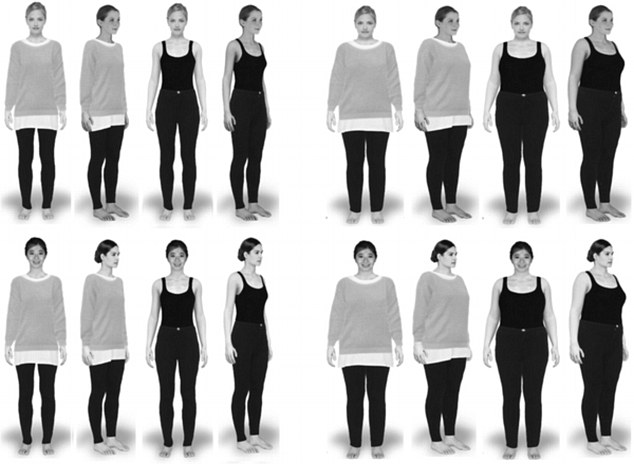 Participants were asked to wear eye-tracking technology while viewing multiple female avatars. These computer generated images were designed to have different body types, ranging from size 6 to size 18 based on UK dress sizes
