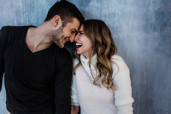 Young couple in love have fun - what scorpio man wants in a relationship
